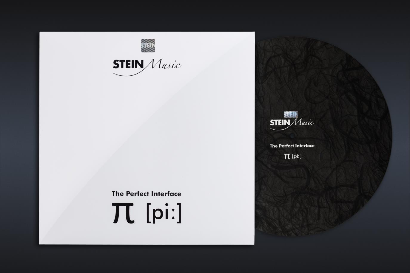 Stein Music The Perfect Interface π [piː] Signature Turntable Mat (Black Edition)