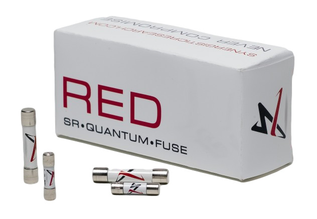 Synergistic Research SR Quantum Red  Fuse, 1A, Large (6.3mm)