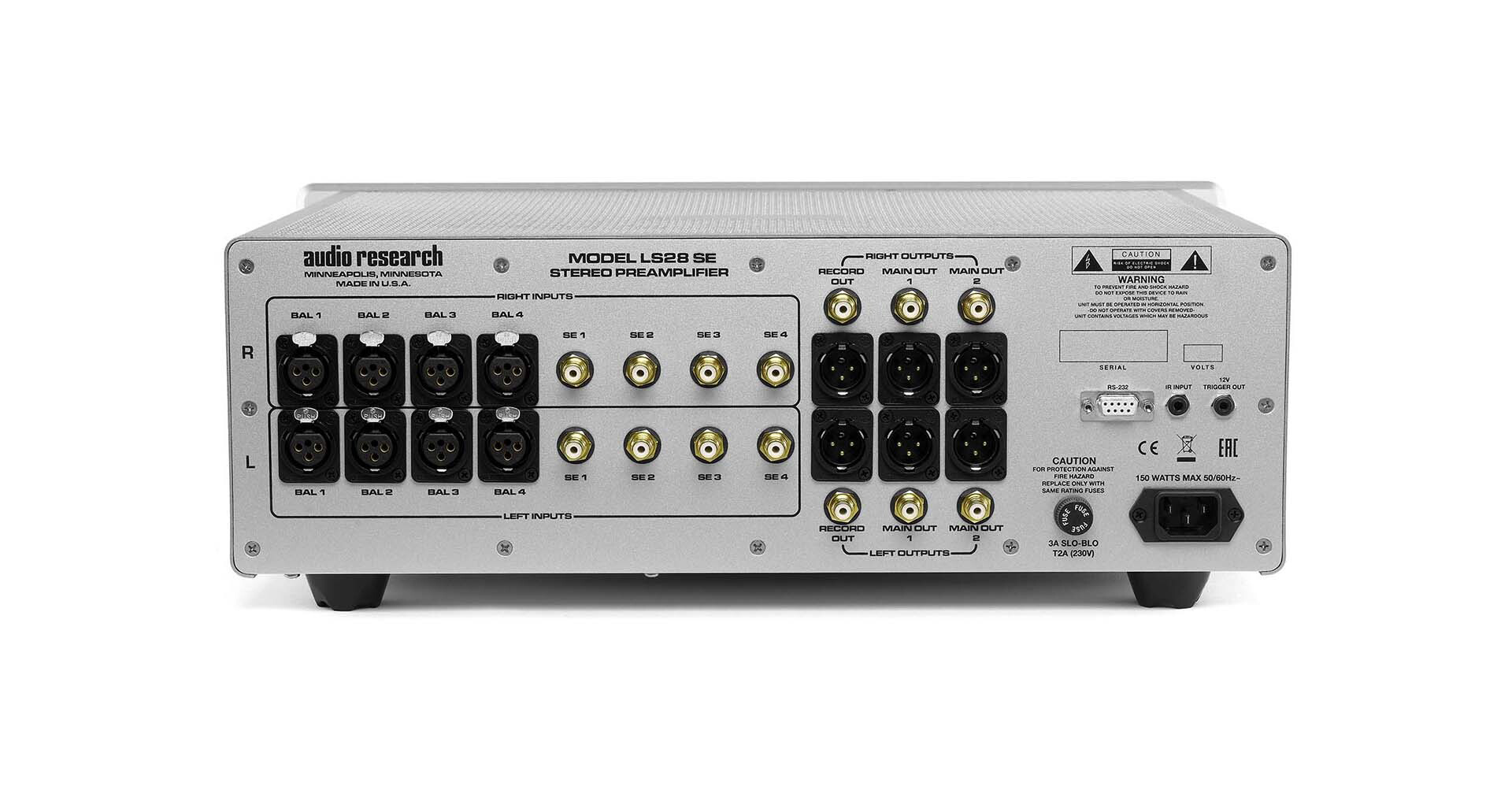 Audio Research LS28SE Line-Stage Preamplifier