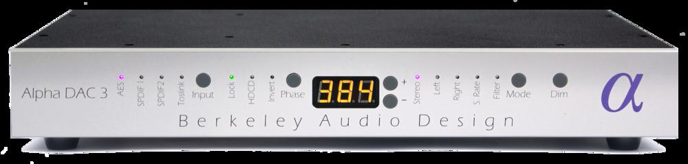 Berkeley Audio Alpha DAC Series 3 with MQA