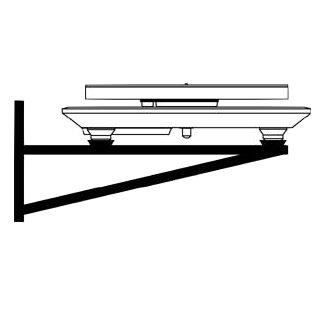 Rega Turntable Wall Shelf