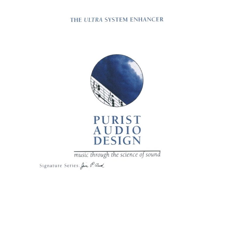 Purist Audio System Enhancer CD - Latest Luminist Revision
