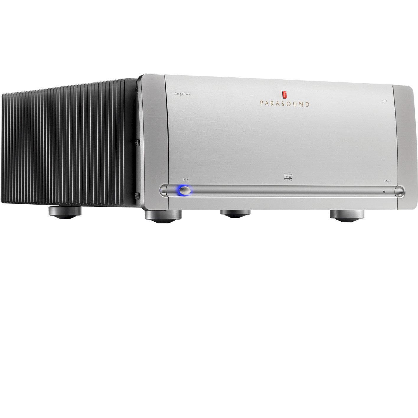 Parasound JC-1 Monoblock Amplifiers, Silver - DEMO