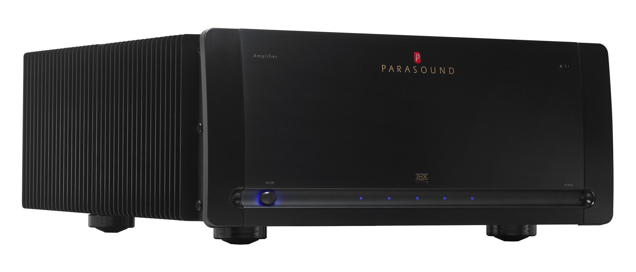 Parasound Halo A 51 Five Channel Power Amplifier