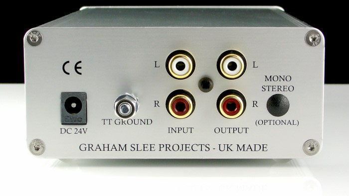 Graham Slee Reflex C Moving Coil Phono Preamplifier with PSU1 Power Supply
