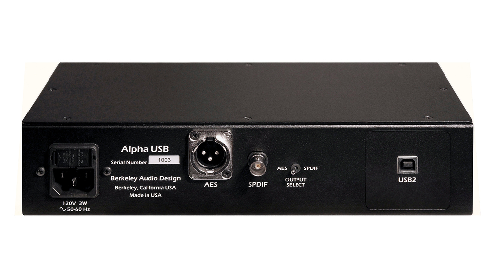 Berkeley Alpha DAC 2 with Berkeley Alpha USB, Black - Pre-Owned
