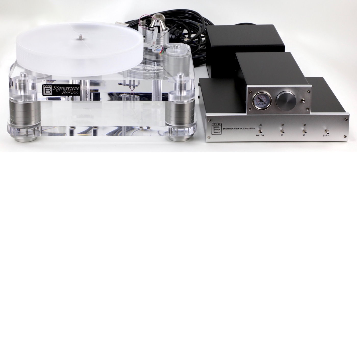 Basis 2800 Signature Turntable with Vacuum Hold Down