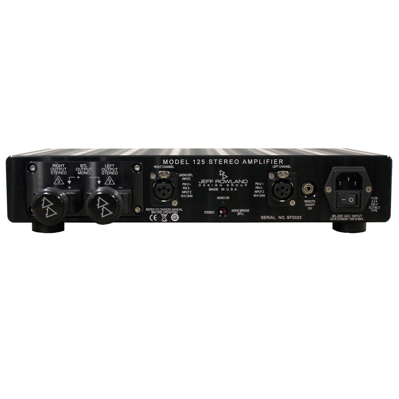 Jeff Rowland Design Model 125 Stereo Power Amplifier