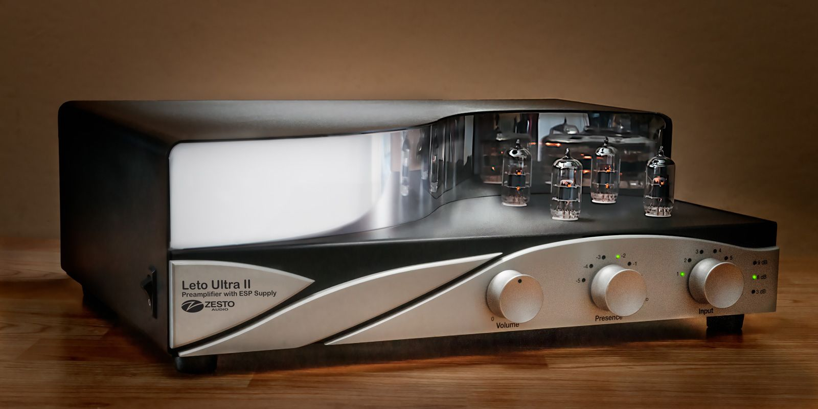 Zesto Audio Ultra II Leto Tube Line Stage Preamplifier