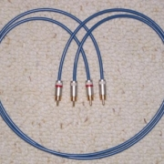 Quicksilver Silver Interconnect Cables