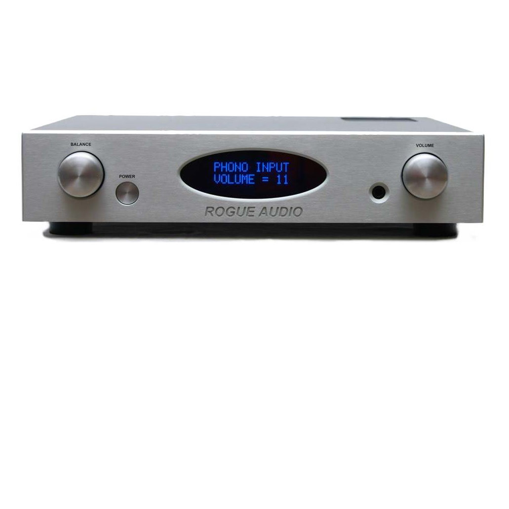 Rogue RP-1 Tube Preamplifier with Phono, Silver - DEMO