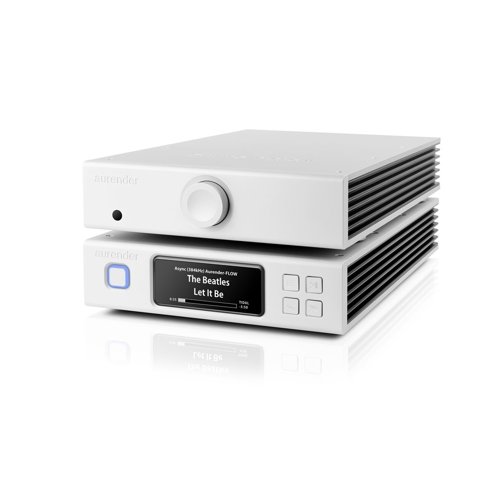 Aurender N-PAC - N100 Music Server and X725 Amplifier Combo