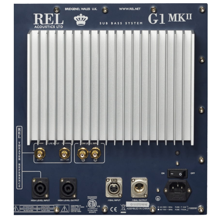 REL G-1 Mk II Subwoofer