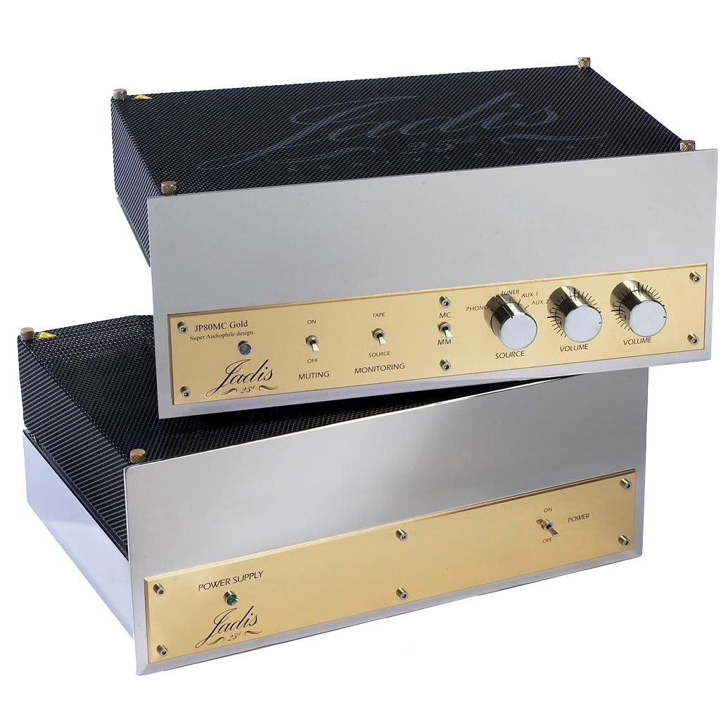 Jadis JP80MC Full Tube Preamplifier with Phono | Galen Carol Audio