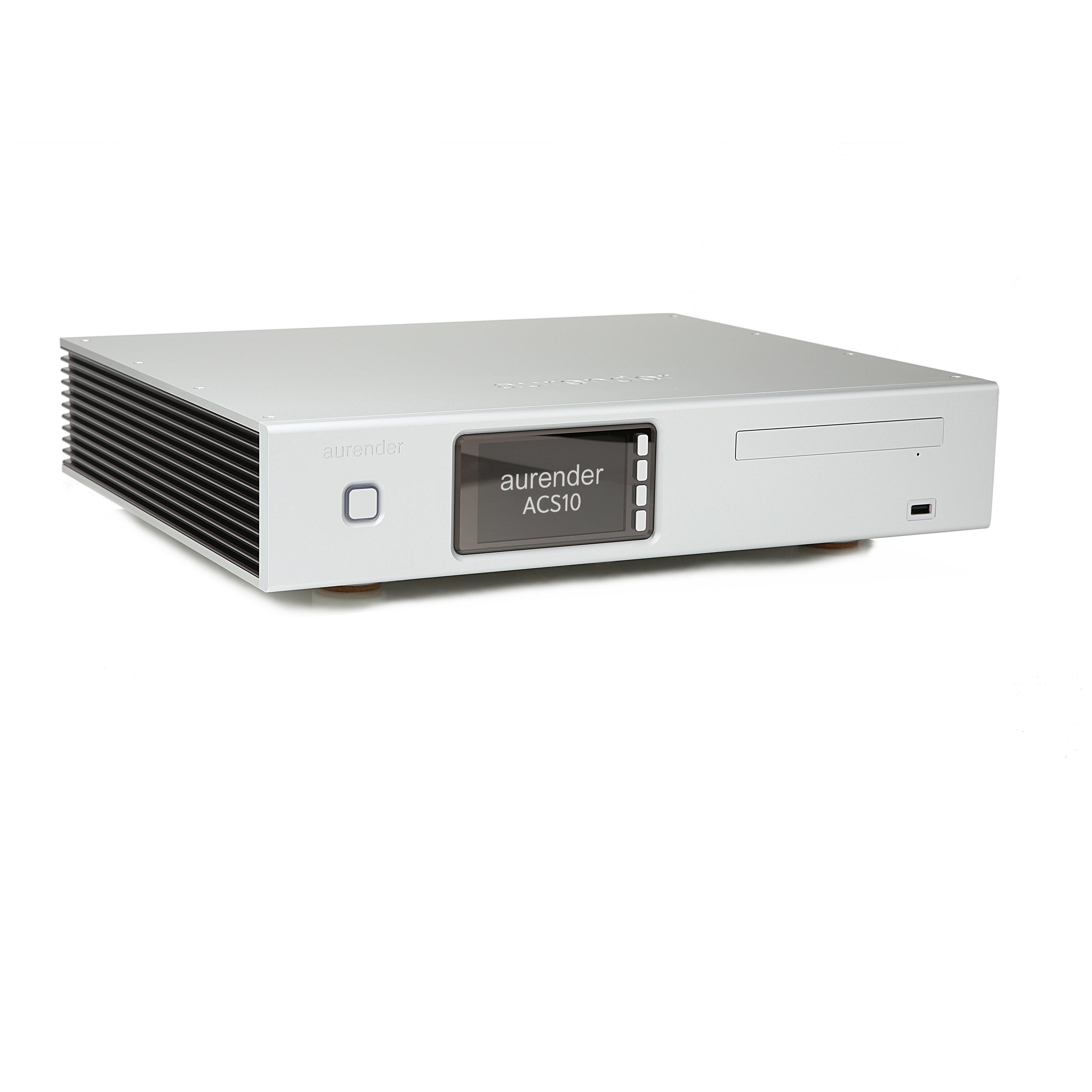 DEMO - Aurender ACS10-16TB Server / Streamer, Ripper and Backup, Silver