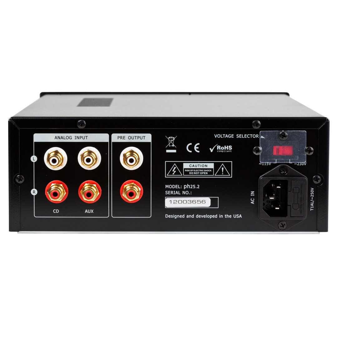 Music Hall 25.2 Hybrid Headphone Amplifier