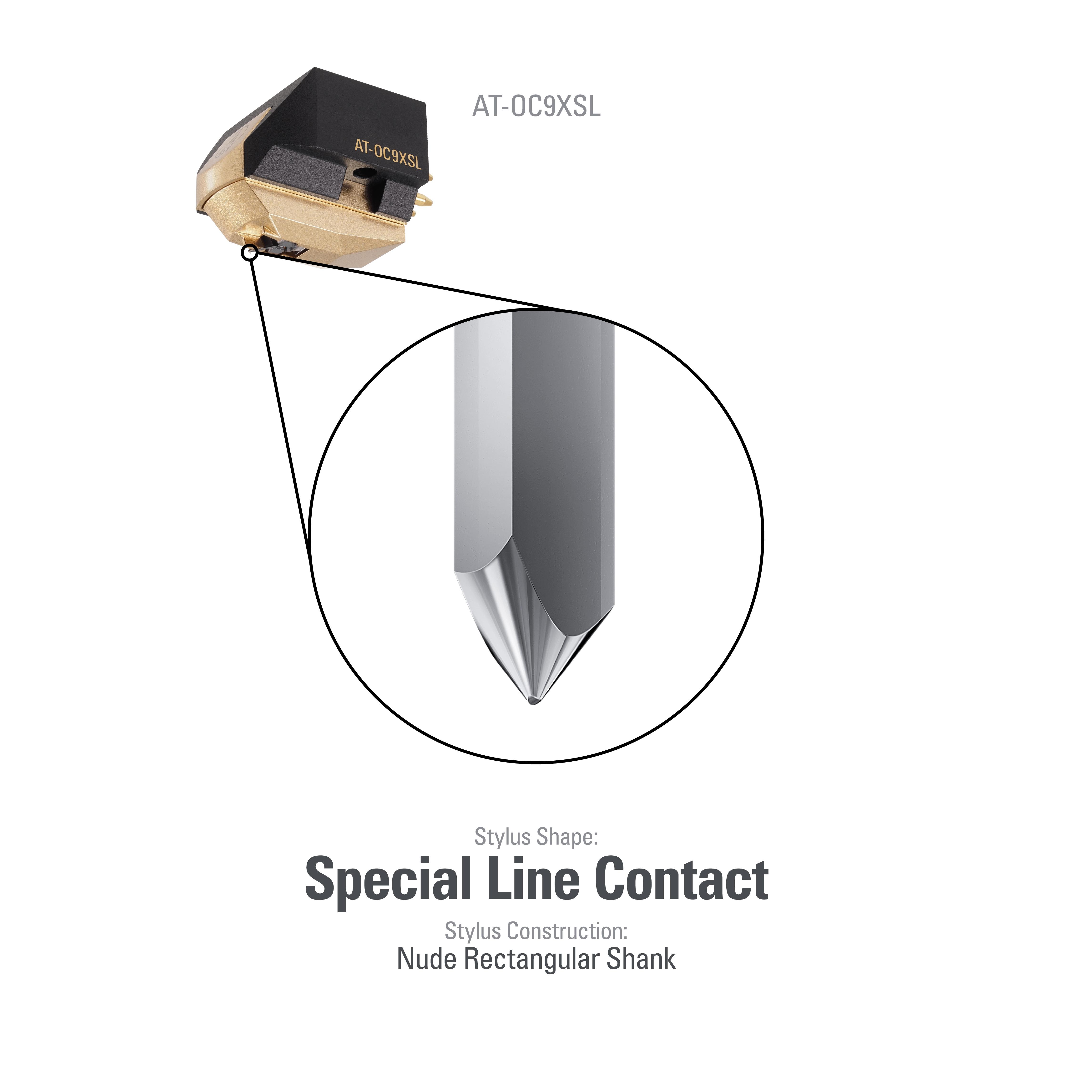 Audio Technica AT-OC9X-SL Moving Coil Phono Cartridge